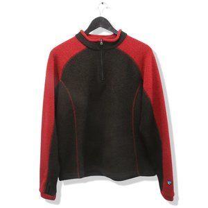 KUHL Alfpaca Fleece Stovepipe Quarter Zip Sweater